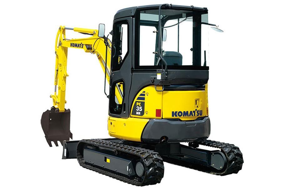Komatsu America Corp. - PC35MR-5 Compact Excavators