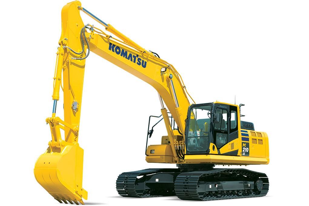 Komatsu America Corp. - PC210LC-11 Excavators