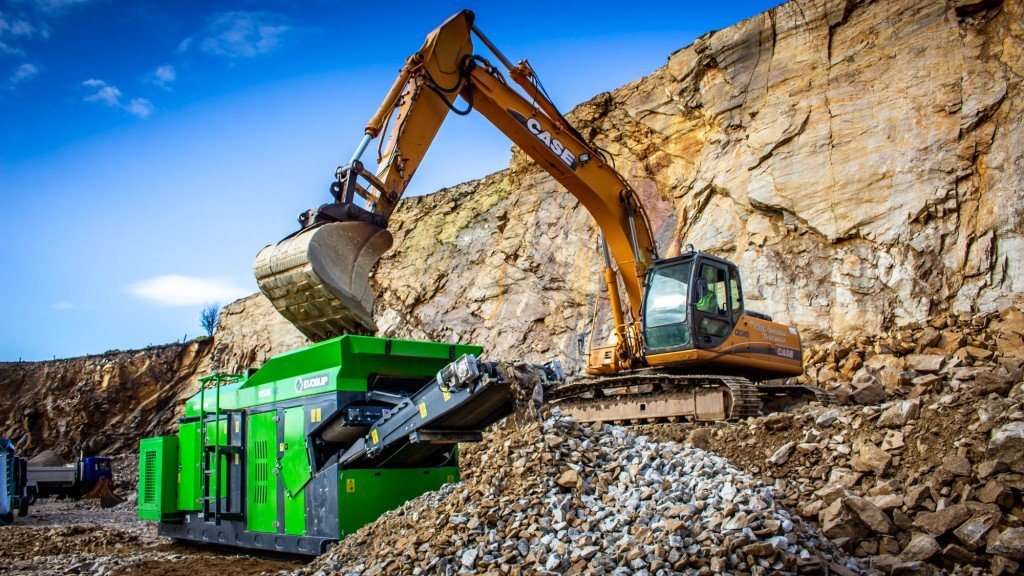 EvoQuip hybrid diesel-electric jaw crusher introduced