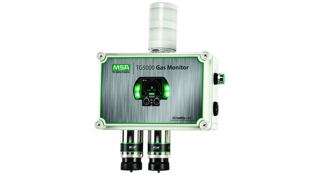 msa tg5000 gas monitor