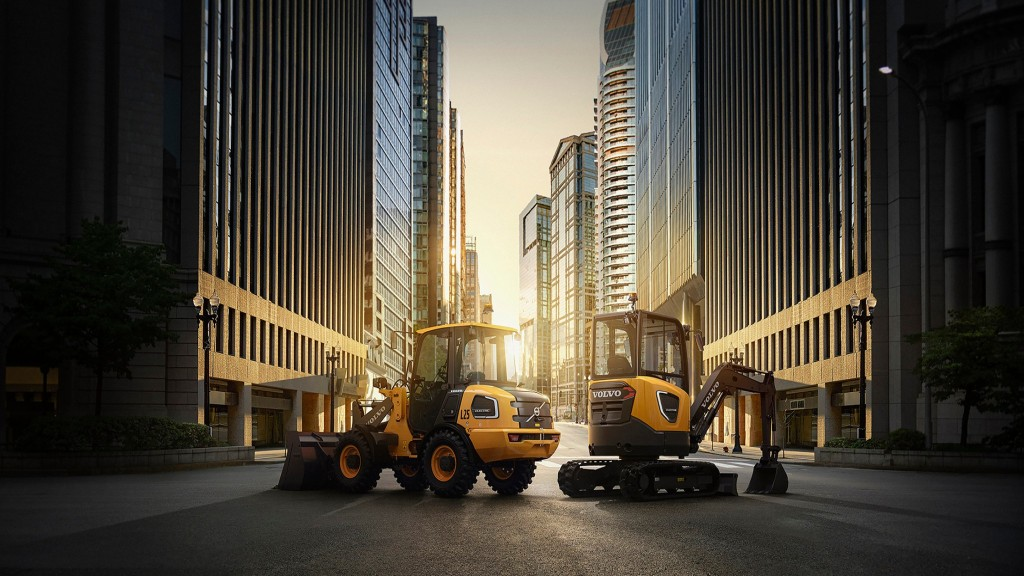 Volvo CE's electric compact ECR25 excavator and L25 wheel loader are currently being developed and tested in Europe.