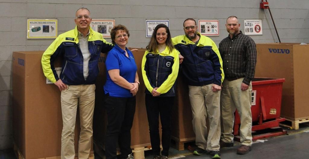 The Volvo Construction Equipment (Volvo CE) Shippensburg site in Pennsylvania, USA becomes the company's second site to earn zero landfill status.