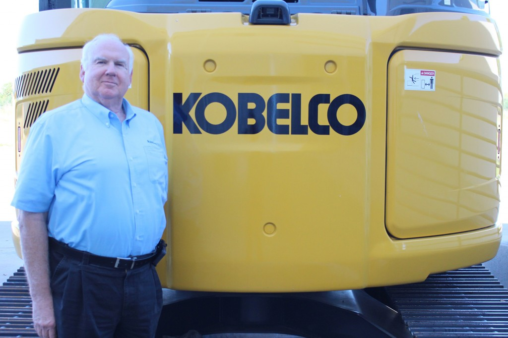 Construction industry veteran George Lumpkins to retire from KOBELCO USA