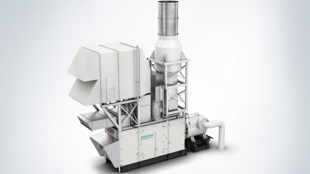 SGT-400 compressor package