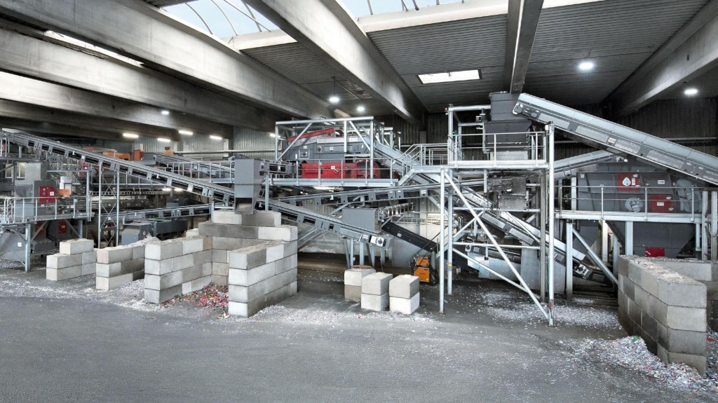 RCS PET sorting plant