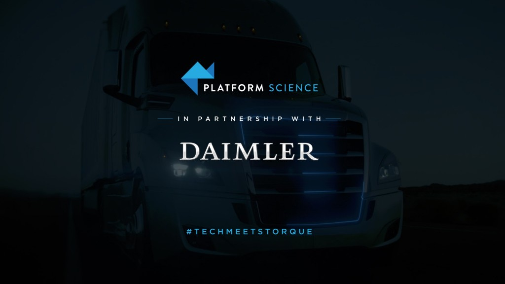 Daimler Trucks partners with Platform Science to provide on-vehicle software solutions