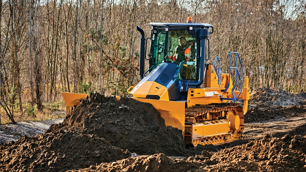 Revolutionary cab is focus of Dressta dozer design