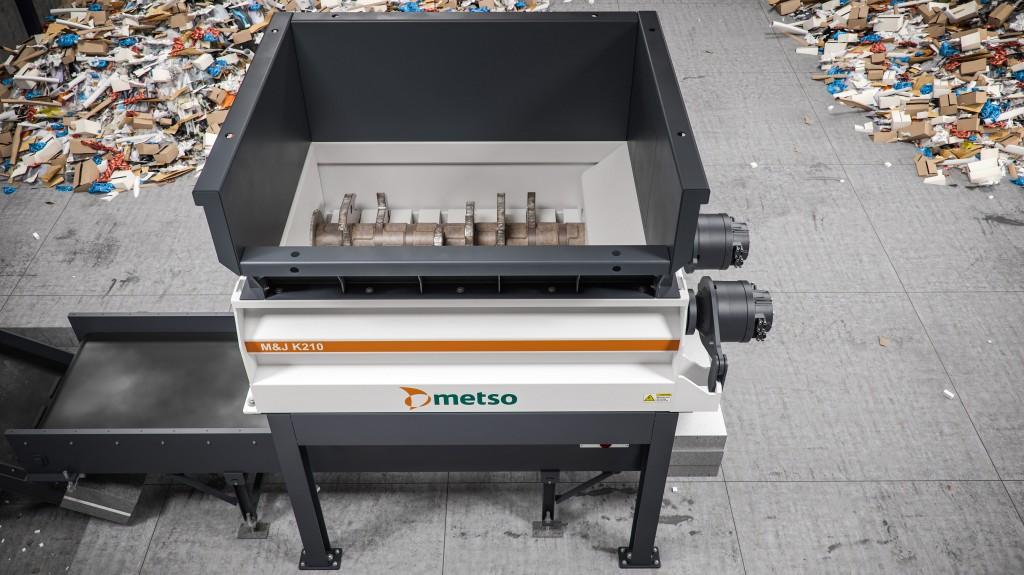 Metso m&j k210 pre-shredder