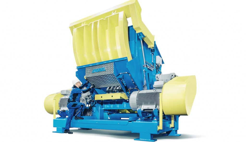 Andritz Aduro P shredder