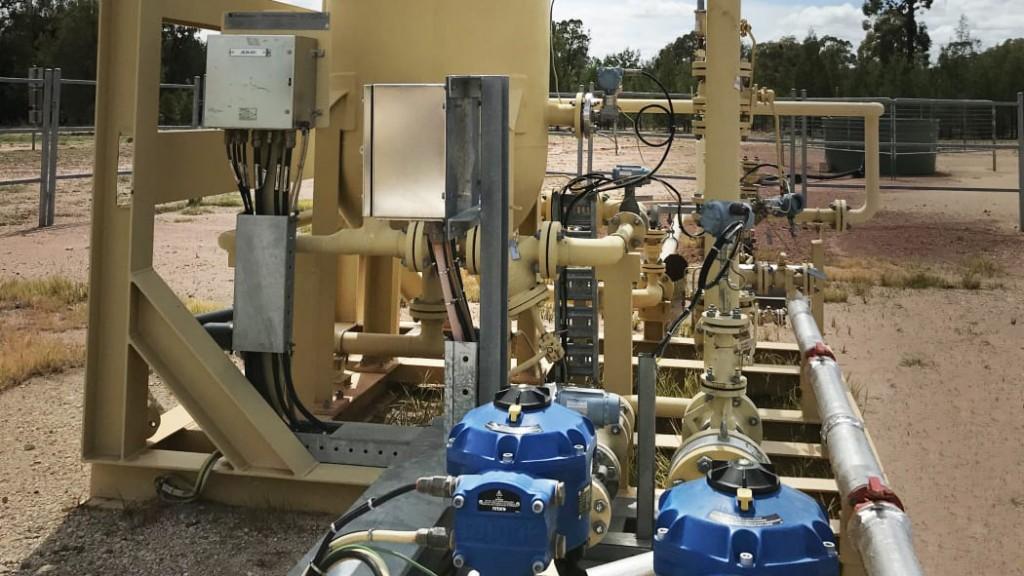 Rotork CVQ electric actuator