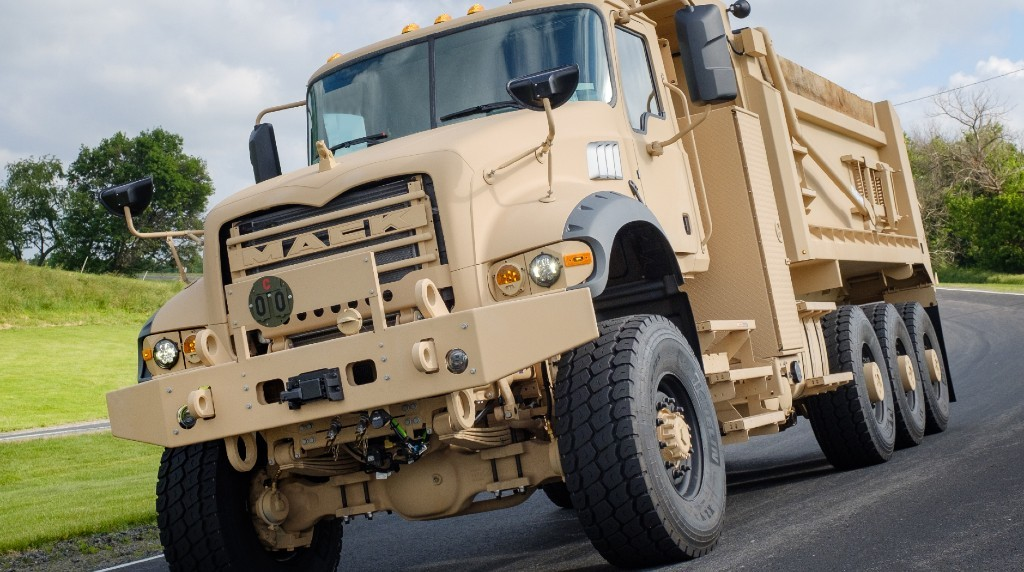 Mack Defense has selected Hutchinson Industries Inc. as the provider of complete wheel assemblies, beadlocks and thermal hub covers for the Mack Defense M917A3 heavy dump truck (HDT).