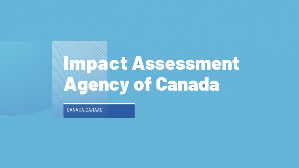 impact assessment agency of Canada logo