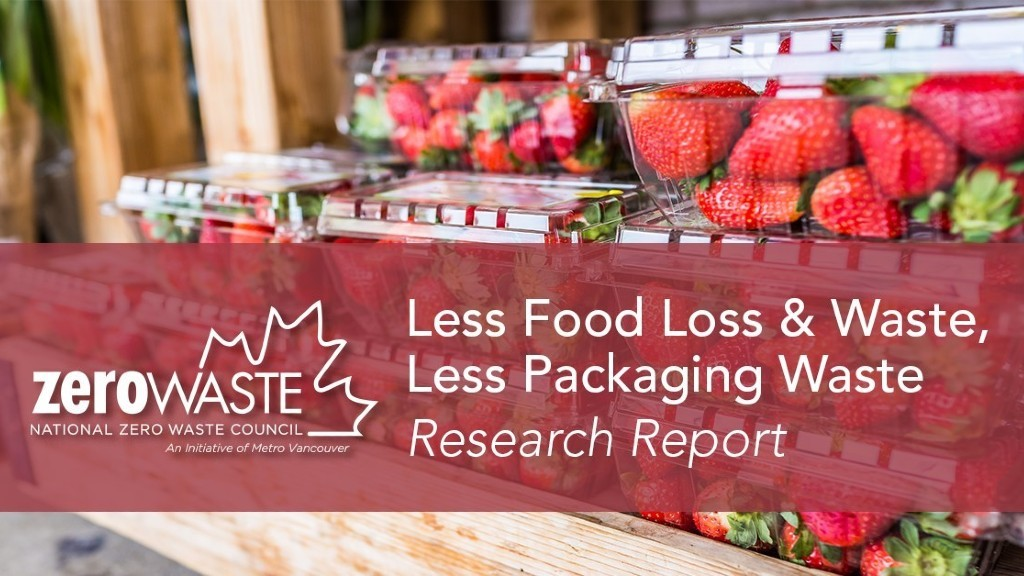 Zero Waste report looks at relationship between food, packaging and GHGs