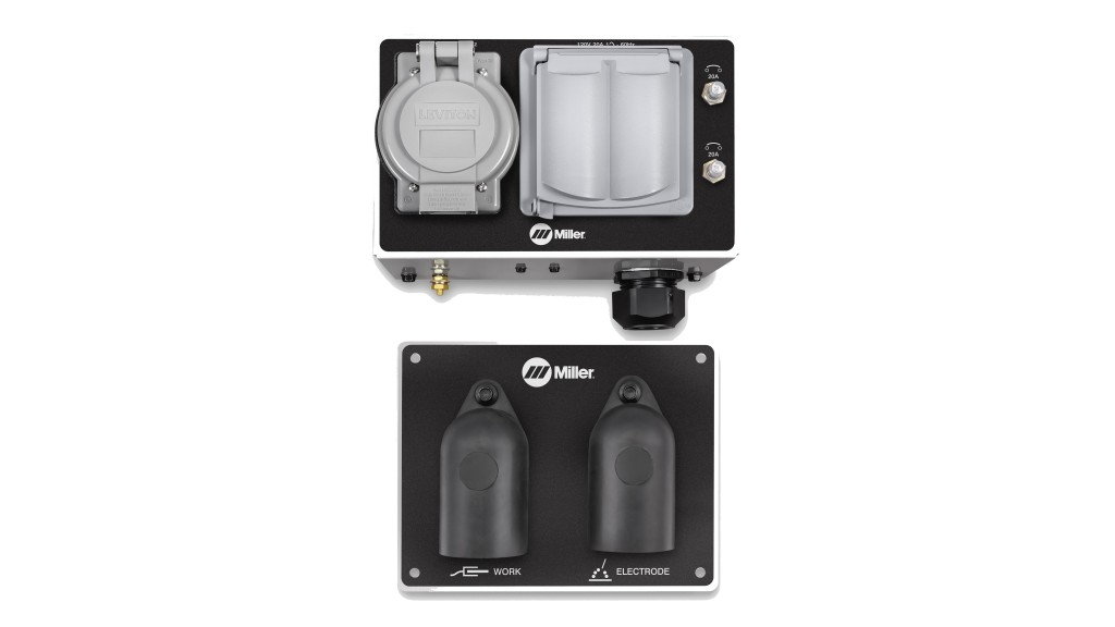 remote output panel kit covered