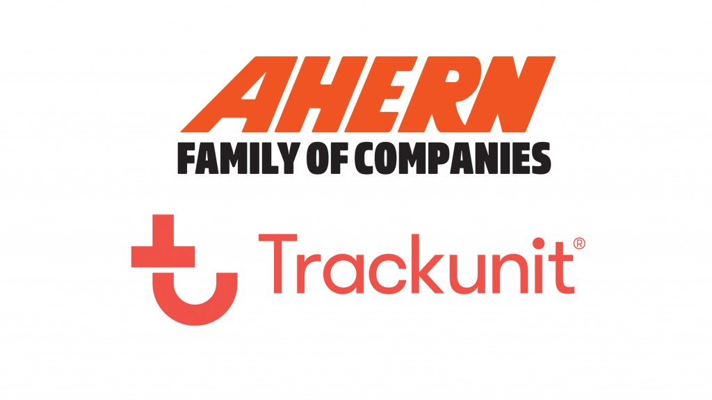 Ahern and track unit logos