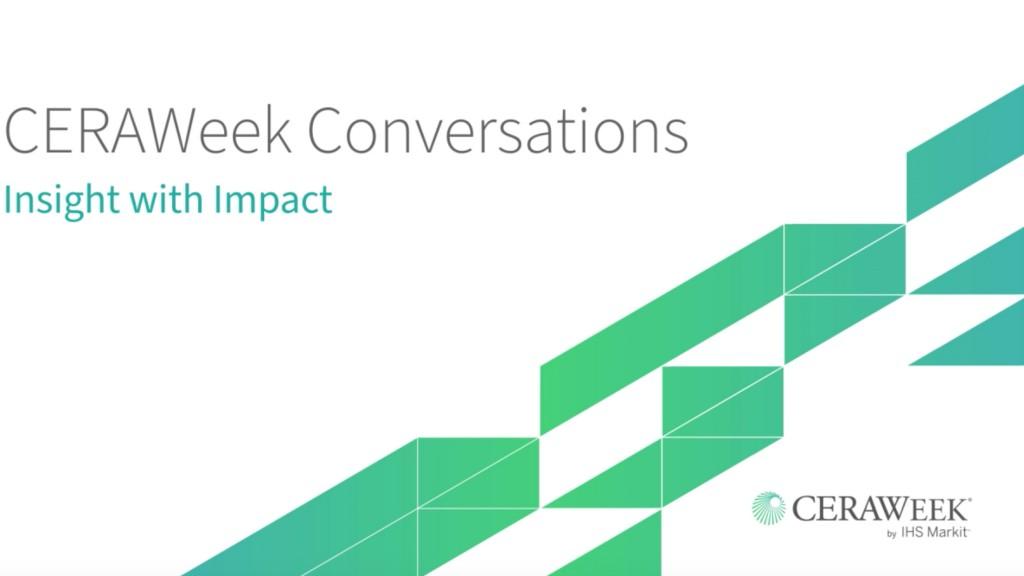 CERAWeek conversations video screenshot