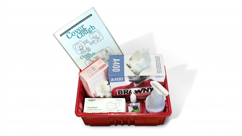 Hyster-Yale self-sanitary kit