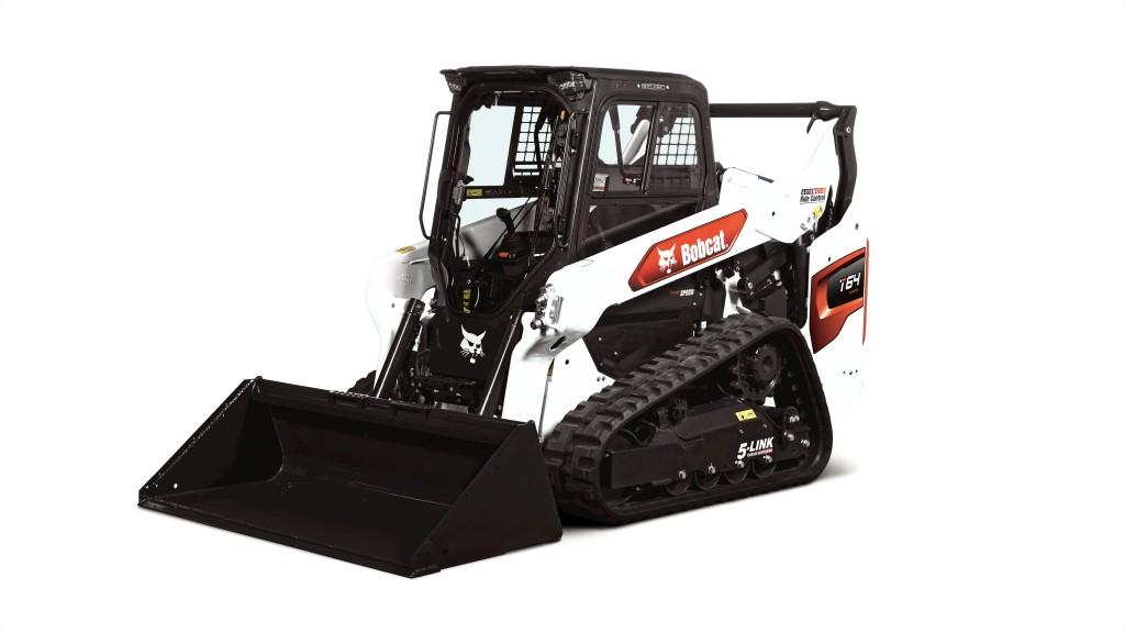 bobcat t64 machine with bucket