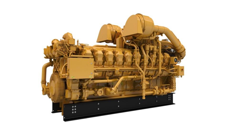 Cat® G3520J gas engine