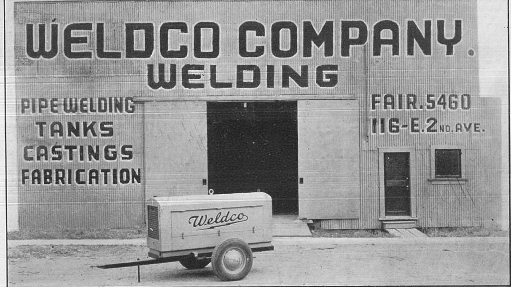 Vintage photos showcase 75 years of Weldco equipment