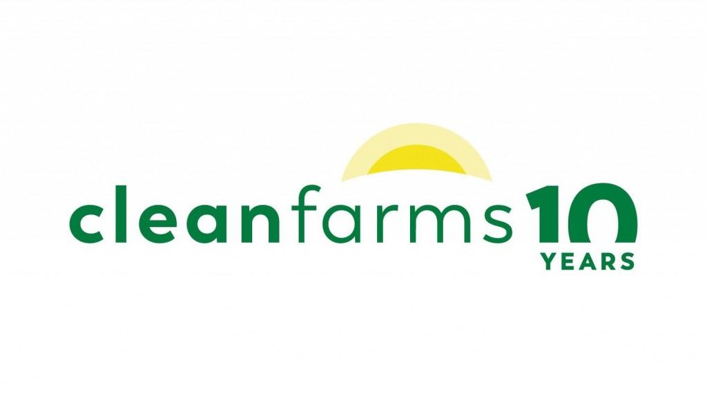 Cleanfarms 10 years logo
