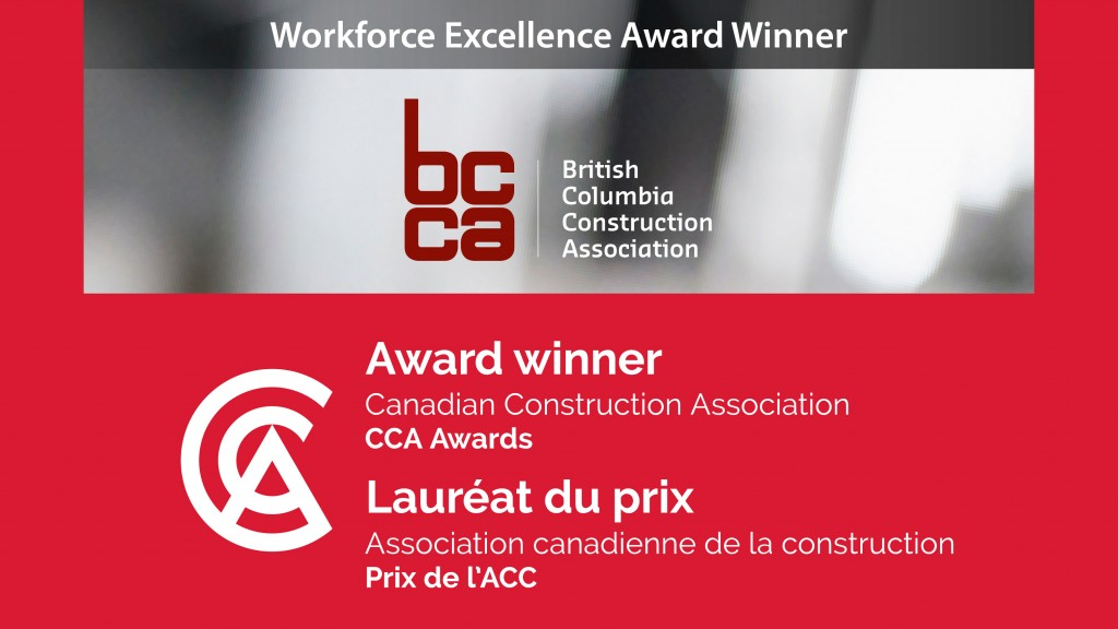 BCCA, Workforce Excellence Award Winner