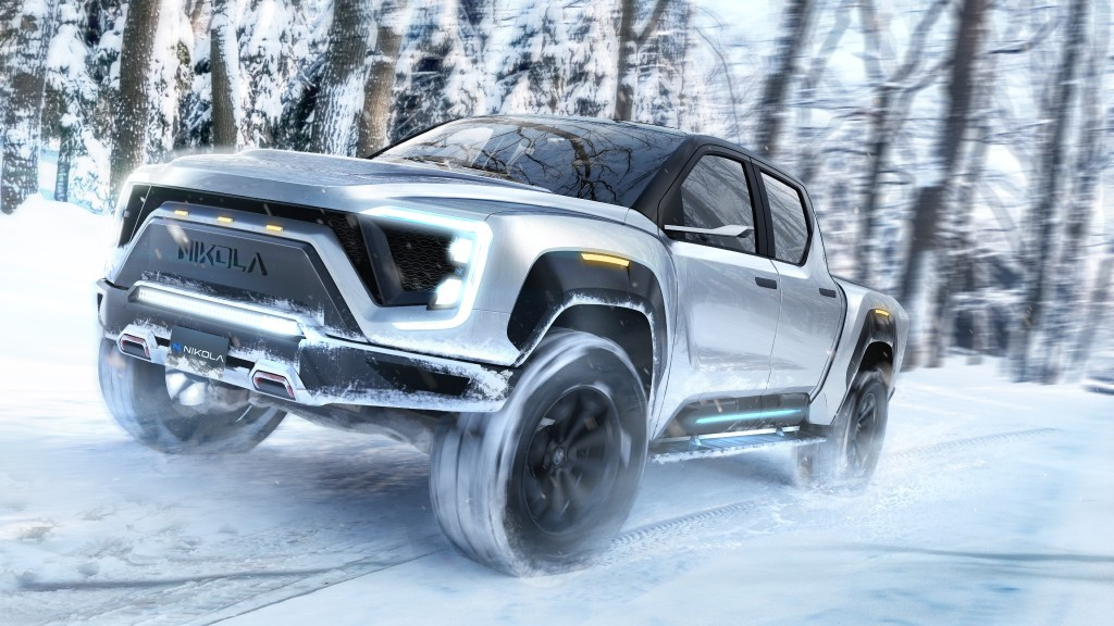 Nikola has announced the product launch of the Nikola Badger electric pickup truck with an estimated range of 600 miles.