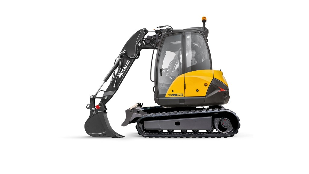 Mecalac crawler excavators travel at skid-steer speeds