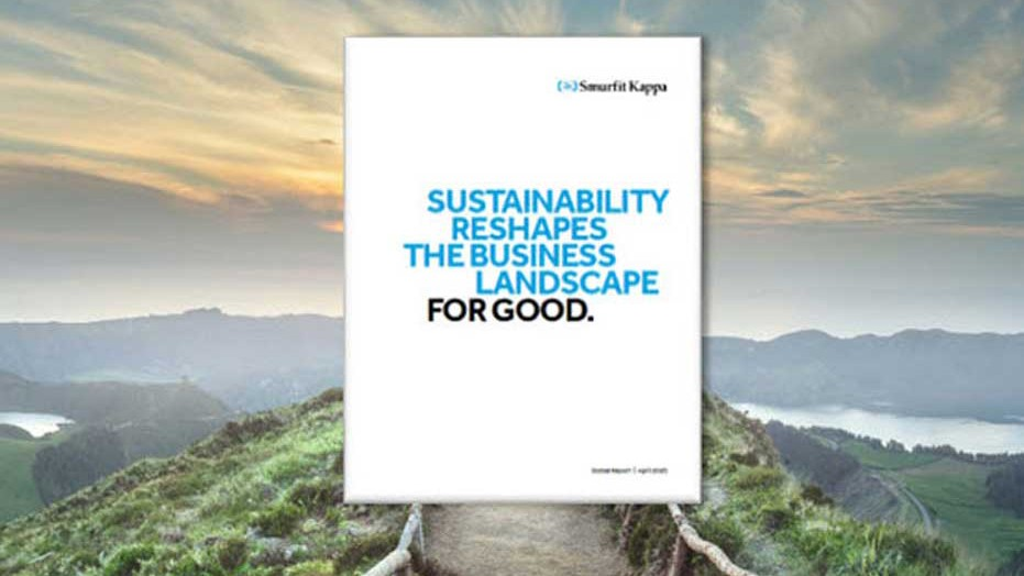 Smurfit Kappa sustainability report poster