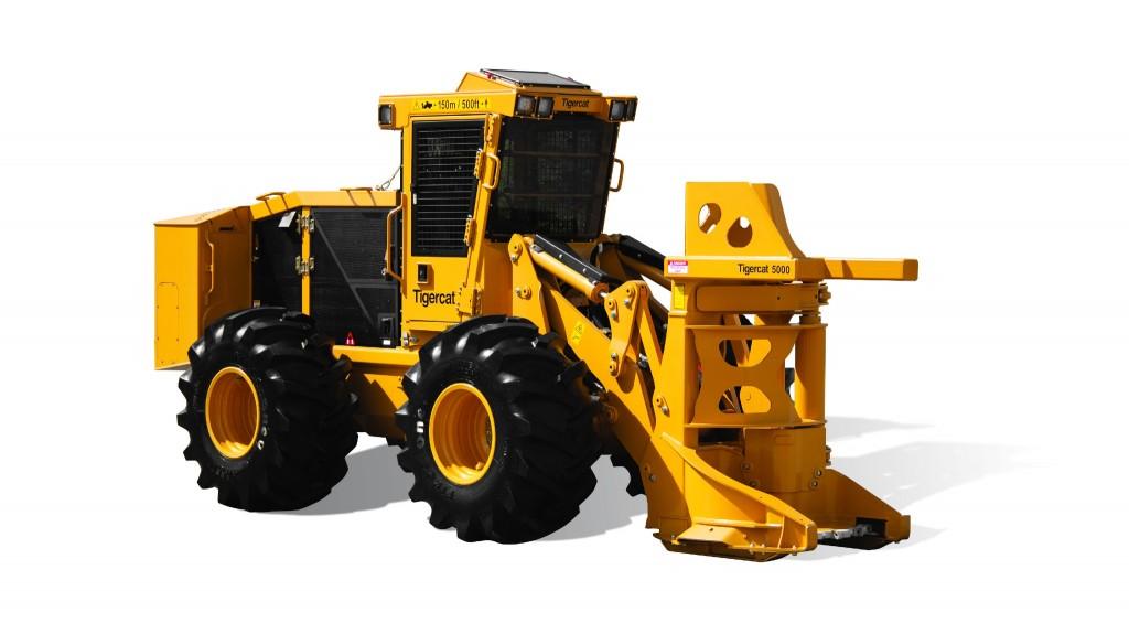 Tigercat releases last machine in drive-to-tree feller buncher lineup