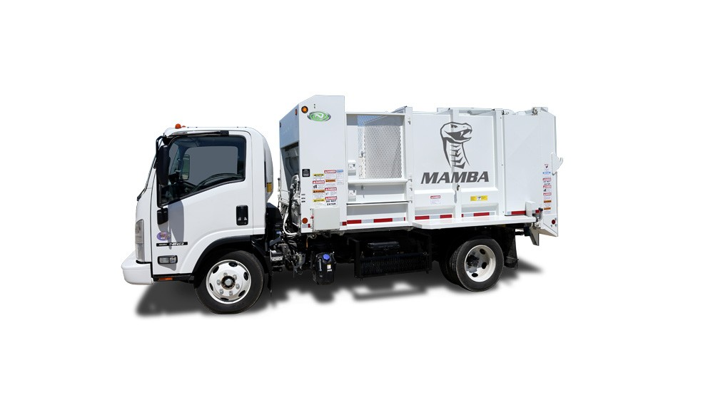 New Way Trucks - Mamba™ Side Arm Loaders