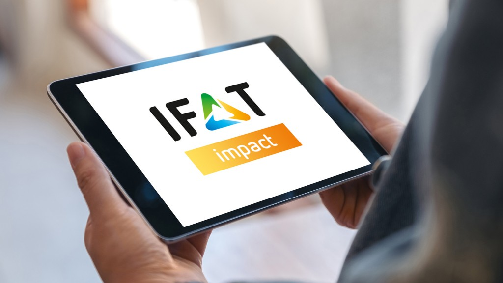 IFAT impact platform on a tablet