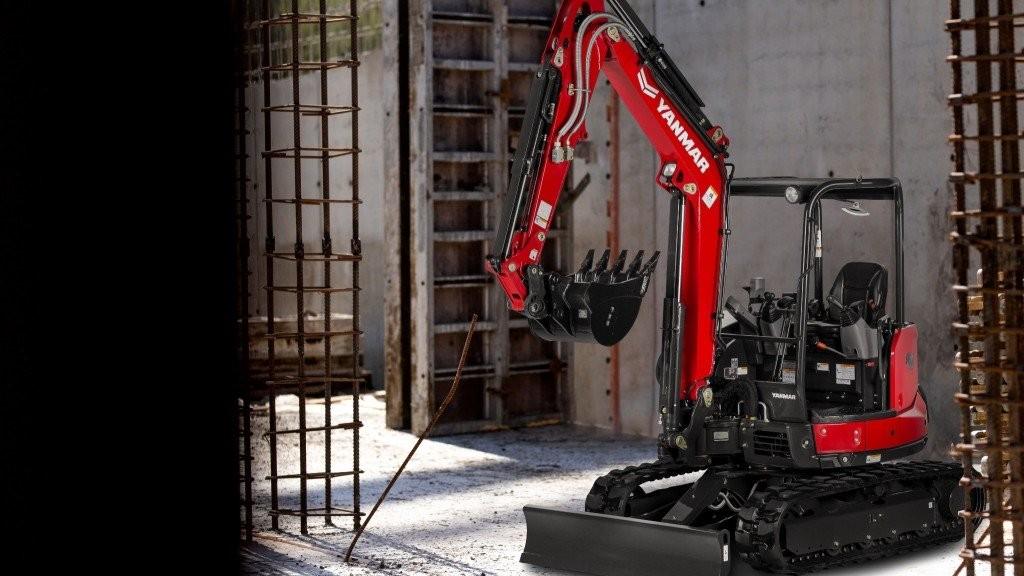 The SV40 excavator