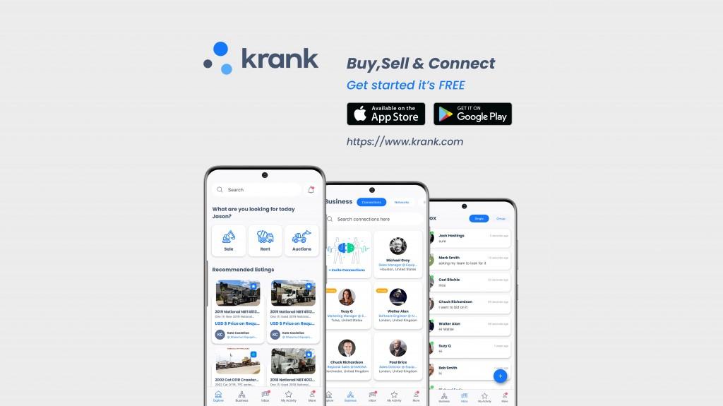 Krank B2B worlds first B2B platform