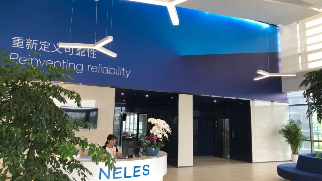 Neles facility front desk reception