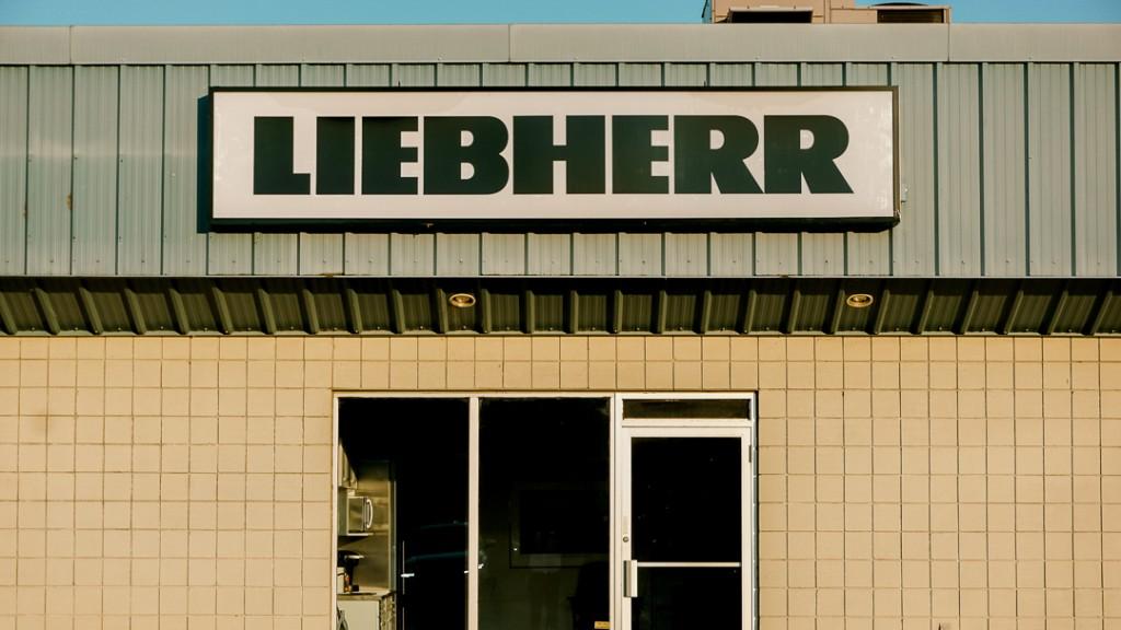 Liebherr office in Sudbury