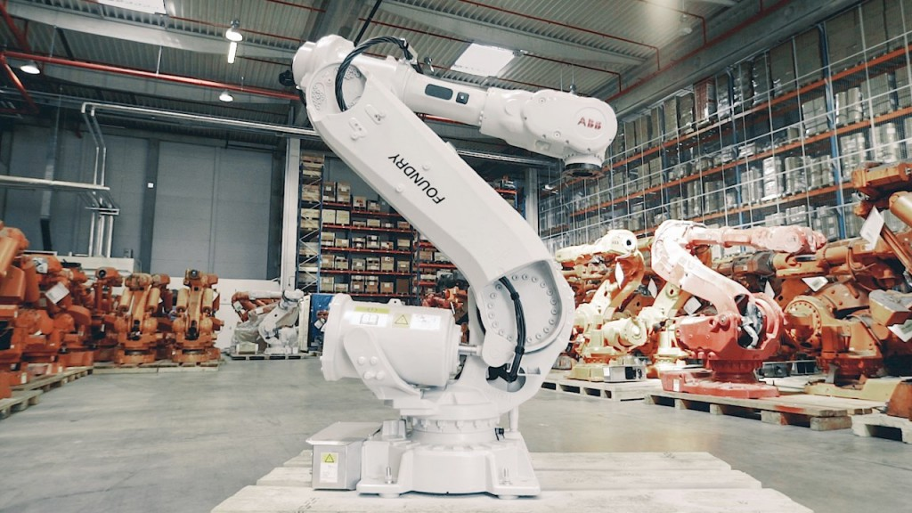 How ABB is using robots to recycle robots, making manufacturing more sustainable