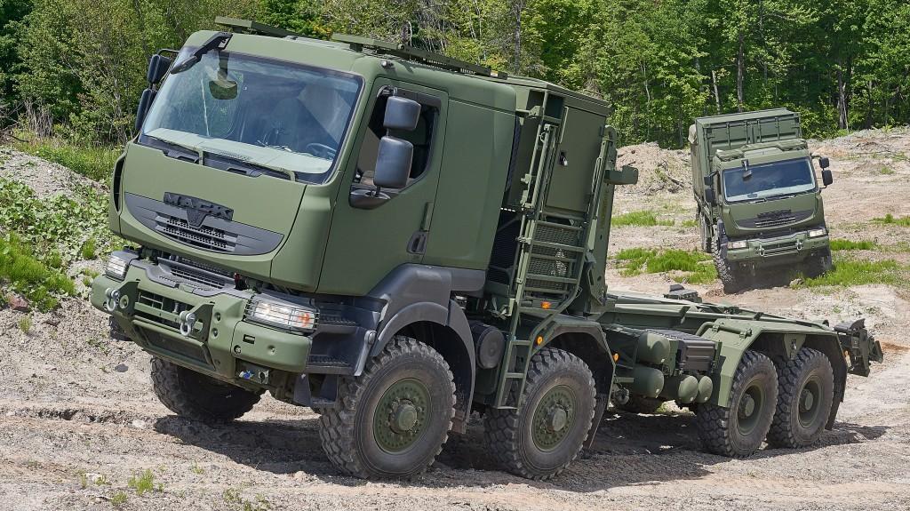 Mack Defense military truck