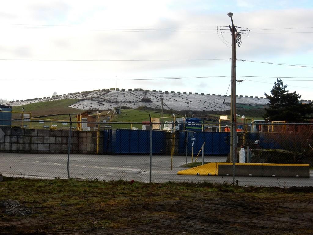 Cedar Rd. landfill Nanaimo