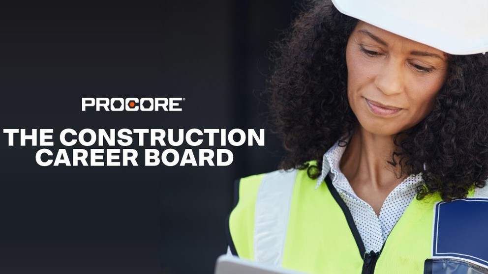 Procore and Construction Career Board partnership