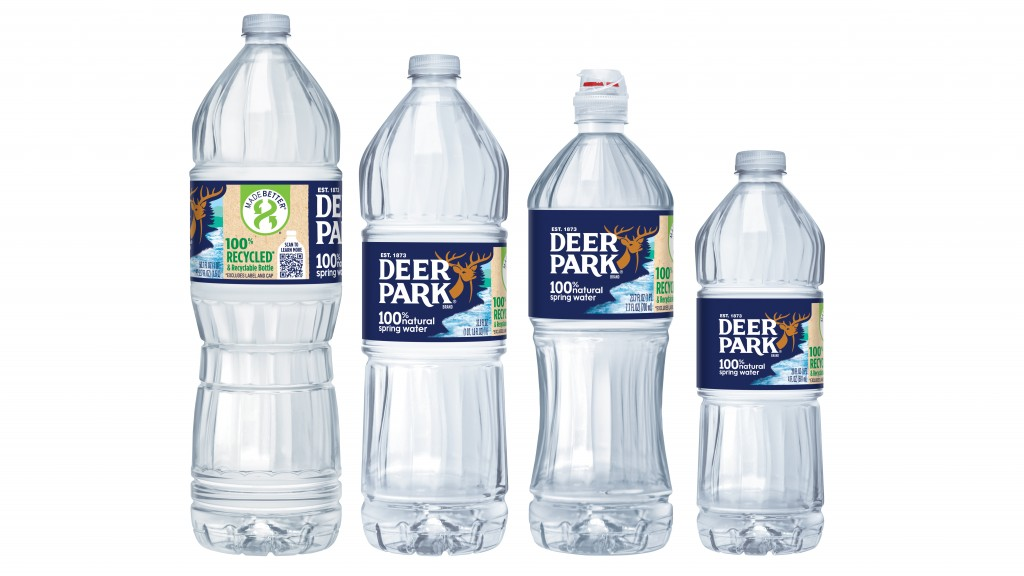 Nestlé water Deer Park water bottle lineup
