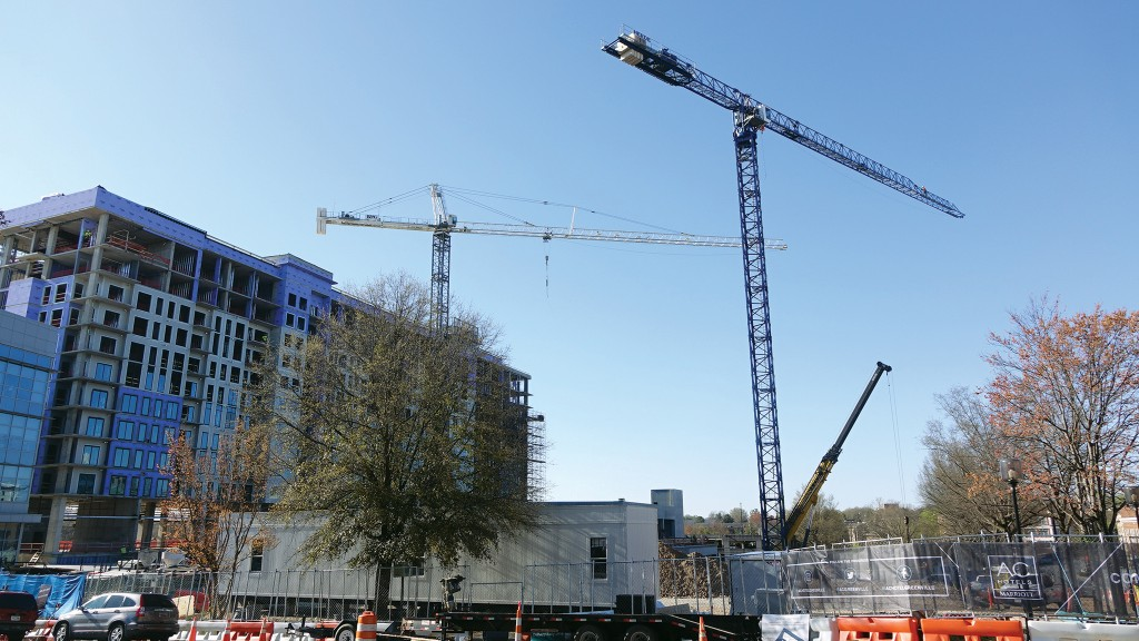 With more cranes on today's jobsites, technology advances are playing a part in protecting workers and equipment.