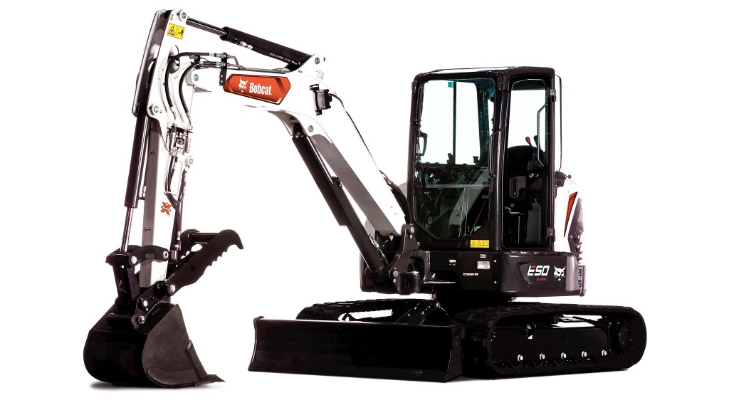 Bobcat partners with Green Machine to produce electric compact excavators