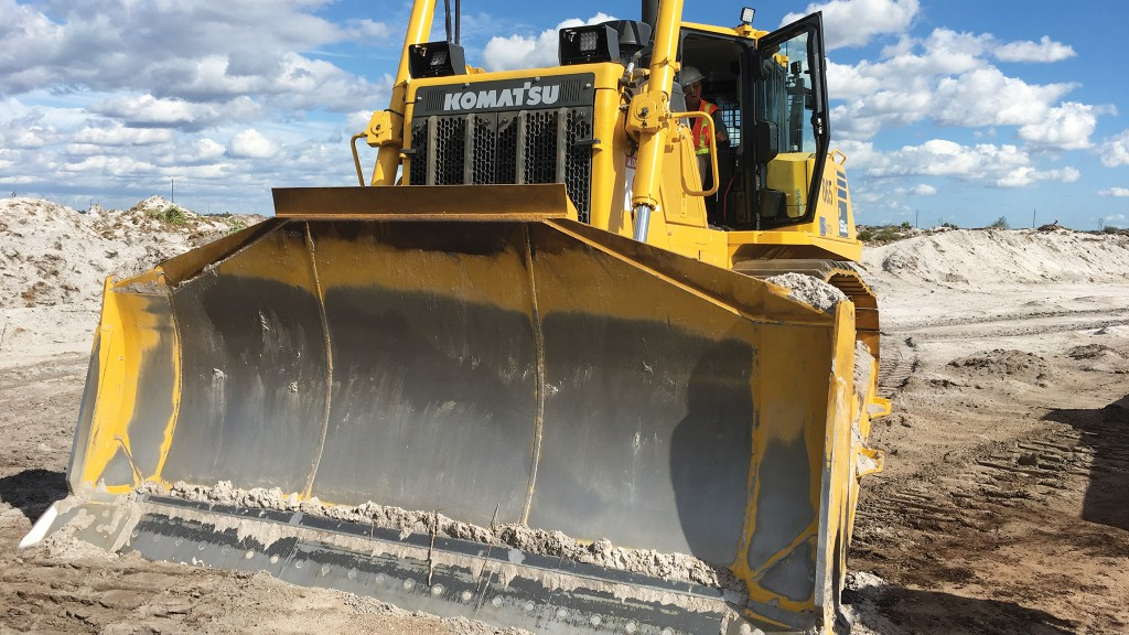 How to pair the right blade with your crawler dozer