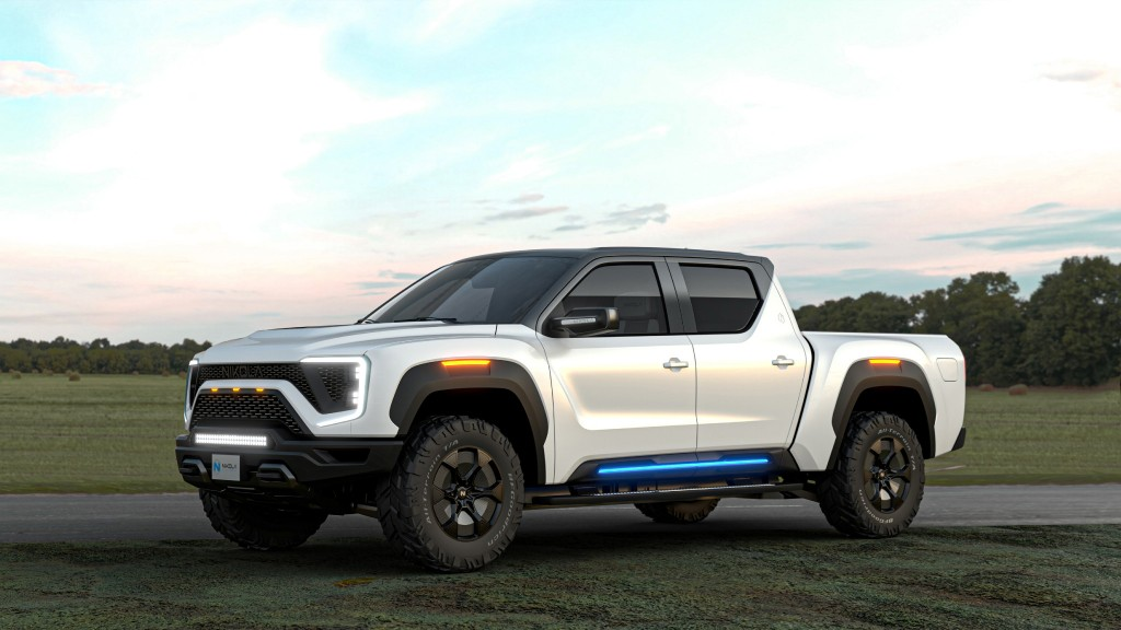 The Nikola Badger electric pickup