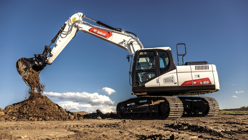 Bobcat sizes up with largest excavator ever
