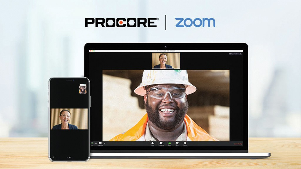 Video conferencing systems like Zoom are now capable of integrating into Procore's platform to improve overall communications.