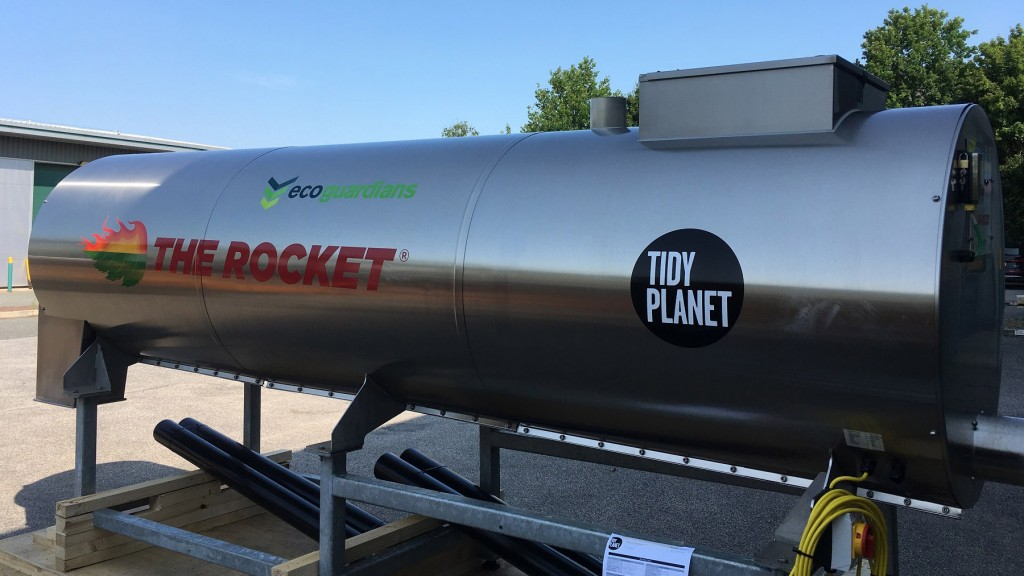 Tidy Planet Rocket composter