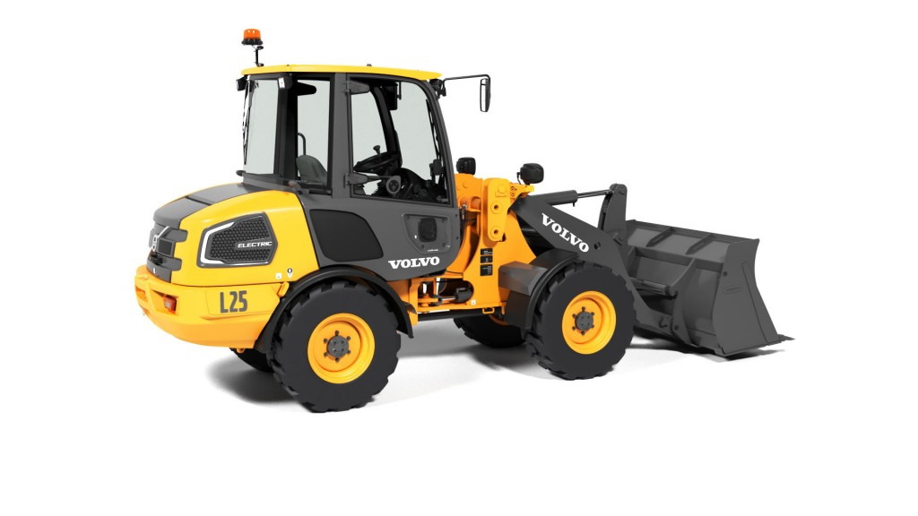 Volvo Construction Equipment - L25 Electric Compact Wheel Loaders