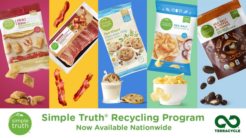 Simple Truth Recycling Program banner
